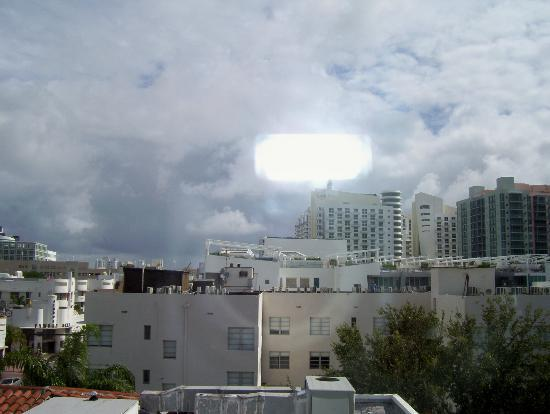 The President Hotel - Miami Beach: THE VIEW FROM MY ROOM
