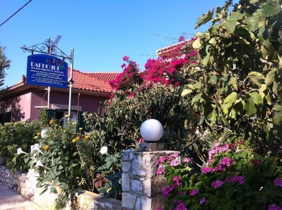 Dafnoudi Hotel: bellissime piante/fiori.