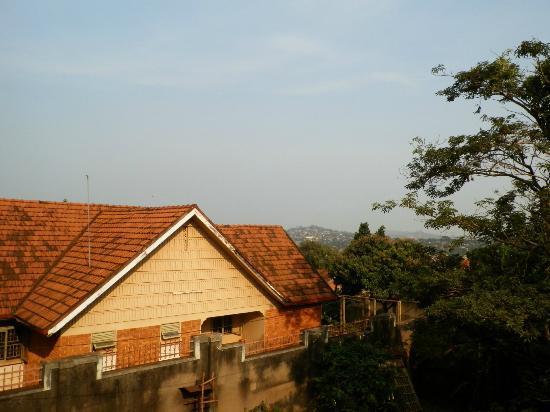 ICU Guesthouse: uitzicht vanaf het balkon