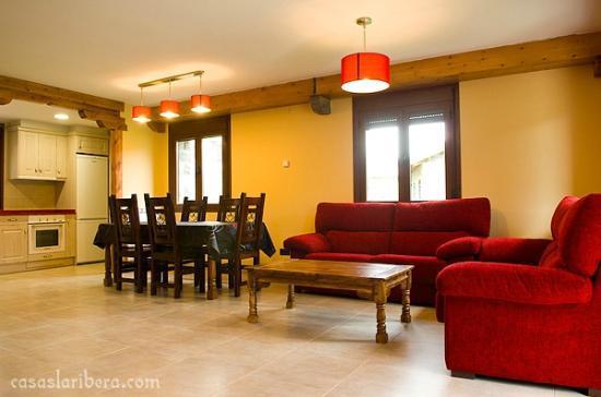 Casas La Ribera: salón 6p extra