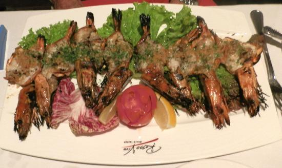 Kuta Seaview Boutique Resort & Spa: Garlic Jumbo Prawns