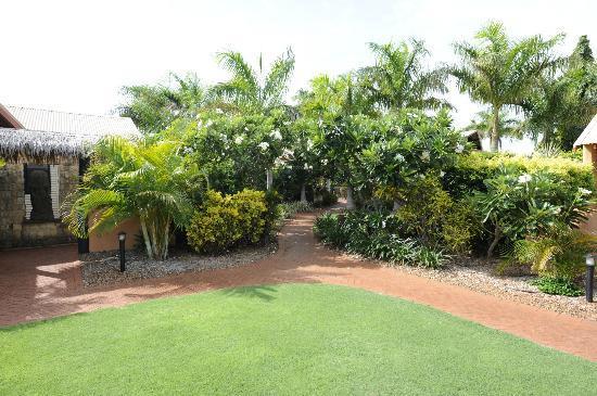 บาลีไฮรีสอร์ทแอนด์สปา: Resort gardens