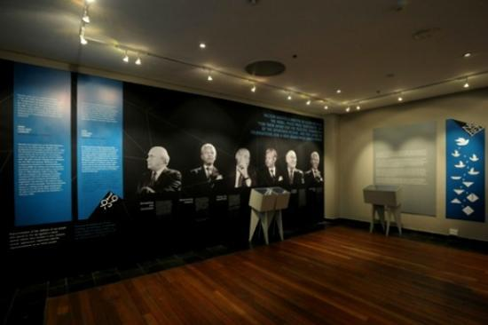 Peacemakers Museum: The museum exhibition