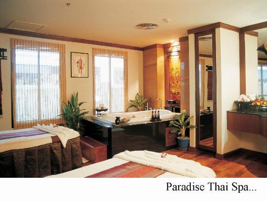 Paradise Thai spa: Deluxe Room with Jacuzzi
