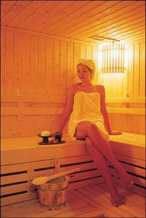 Paradise Thai spa: Sauna