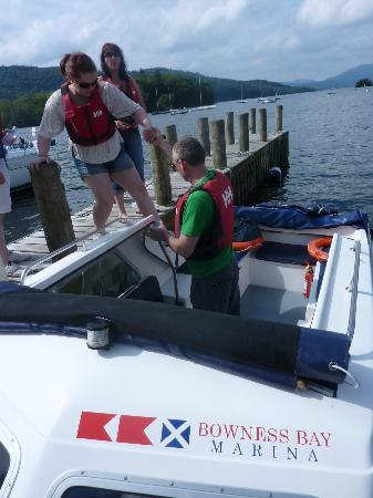 Bowness-on-Windermere, UK: All aboard
