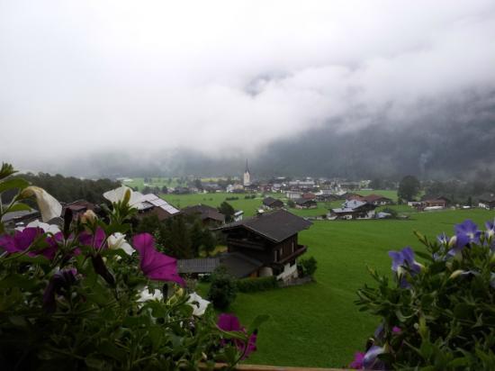 Panoramahotel Burgeck: Vista desde el balcón