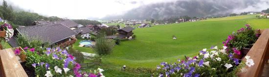Panoramahotel Burgeck: Panorámica desde el balcón
