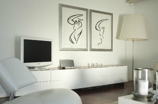 Boutique Manolo: Penthouse Living Room
