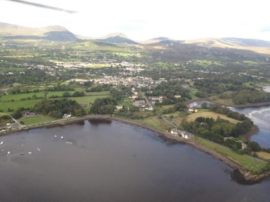 Park Hotel Kenmare: kenmare from the air