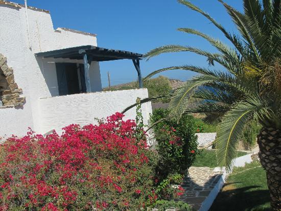 Ostria Inn: view from our terrace