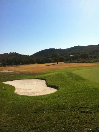Argentario Golf Resort & Spa: fairway bruciato e green