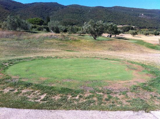 Argentario Golf Resort & Spa: tee shot del par 3