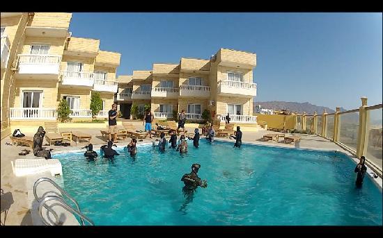 Dahab Hotel: Team Hungary