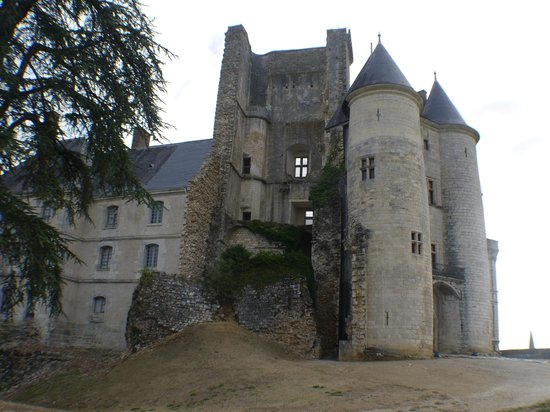 La Rochefoucauld, France: View from the extensive grounds