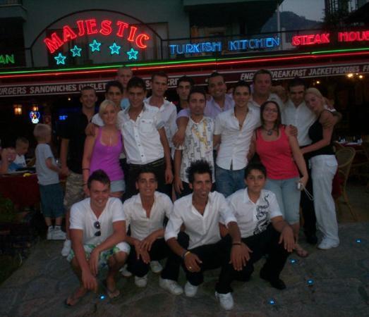 location photo direct link majestic restaurant icmeler mugla province turkish aegean coast