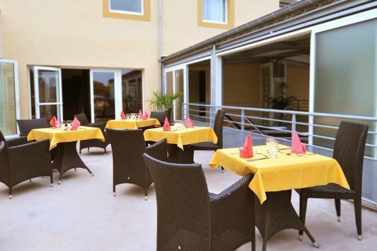 Inter-hotel Otelinn : La terrasse