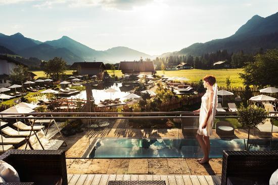 Wellnesshotel Engel: Unser Engel´s Alpengarten