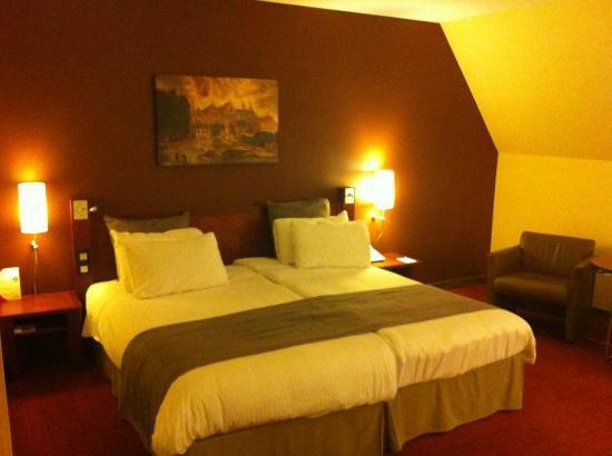 Crowne Plaza Brugge: Room view#2
