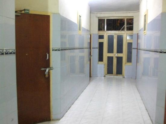 TTDC Hotel Tamil Nadu : Corridor to the room