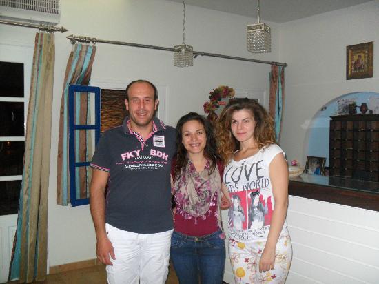 Hotel Katerina: Familjen som driver hotellet