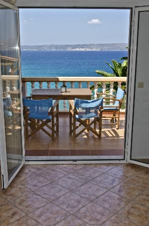 Villa Dina: Panoramic sea view