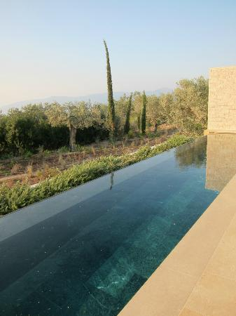 Amanzoe: View from our pool