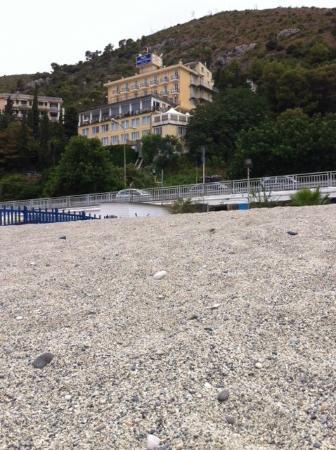 Best Western Hotel Acqua Novella: l'hotel visto dalla spiaggia libera