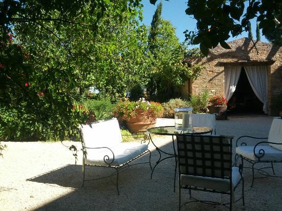 Villa Cicolina: All'arrivo