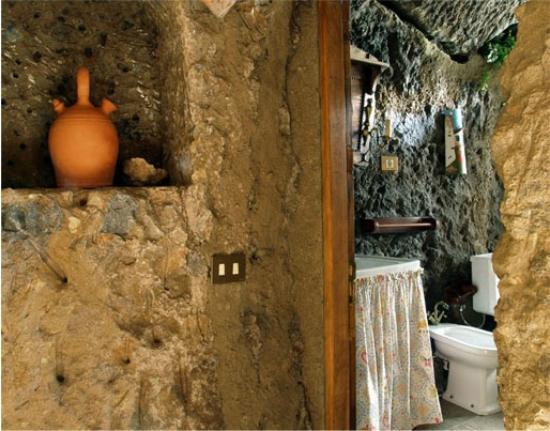 Casa-Cueva El Mimo : Baño