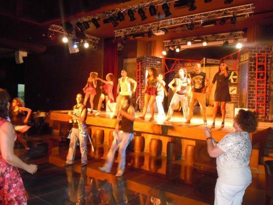 Hotel Riu Palace Tikida Agadir: the entertainment team