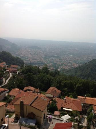 vista dalla terrazza del ristorante - Picture of La Ruota, Massa ...