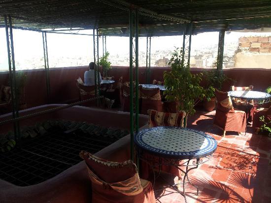 Restaurant Sekaya : Restaurant sur le toît