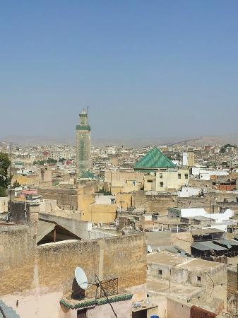 Restaurant Sekaya : Vue sur la Medina