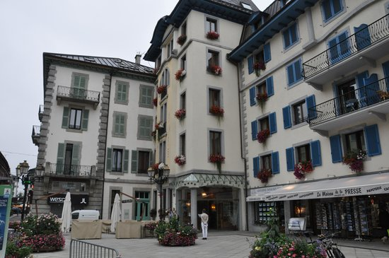 ‪‪Grand Hôtel des Alpes‬: Front of Hotel‬
