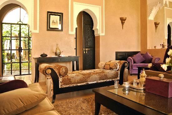 Salon Marocain - Picture of Villa Dar Babeldom, Marrakech ...