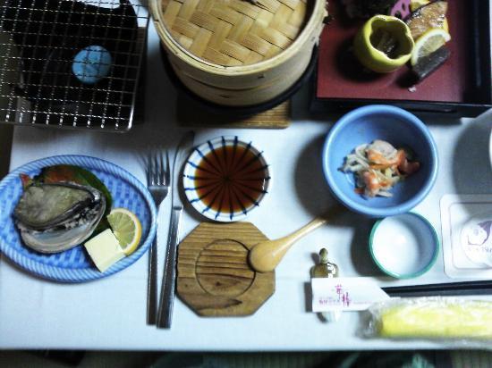 Kameya Hotel Hana-Tsubaki: 夕食の画像