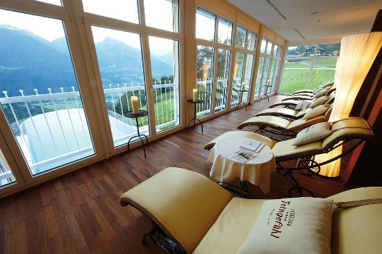 Ferienhotel Fernblick: Die Ruhe im neuen Badehus genießen