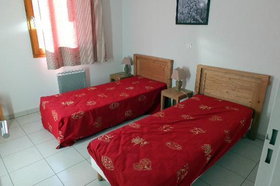 Residence L'Aigle Bleu : la chambre à 2 lits de 78