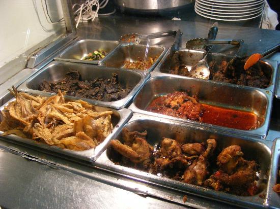Pondok Buyung: side dishes