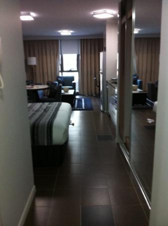 Meriton Serviced Apartments Brisbane on Adelaide Street: entree