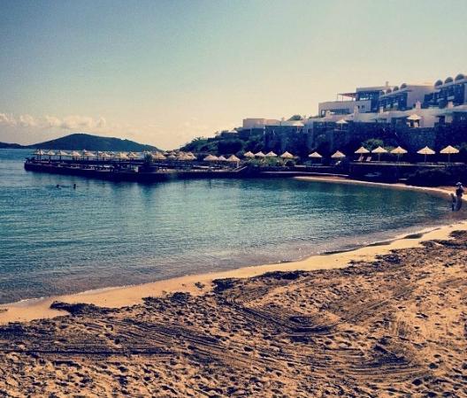 Elounda Peninsula All Suite Hotel: Amazing private beach