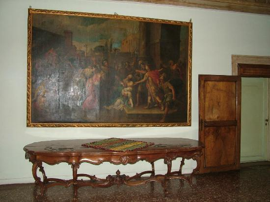 Ca' Zanardi: first floor paintings and furniture
