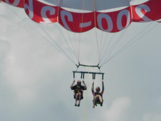 Just Chute Me Parasail: Going up!