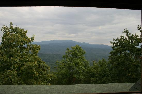 ‪‪Chilhowee Mountain Retreat‬: View from room
