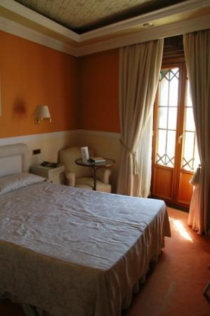 Hotel Alhambra Palace: Small but cozy
