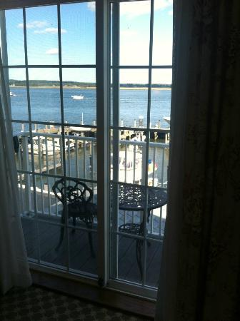 Saybrook Point Inn & Spa: Private balcony
