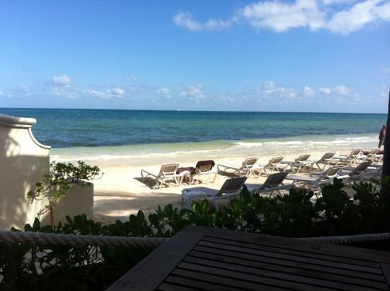 Secrets Capri Riviera Cancun: vista desde el cactus club