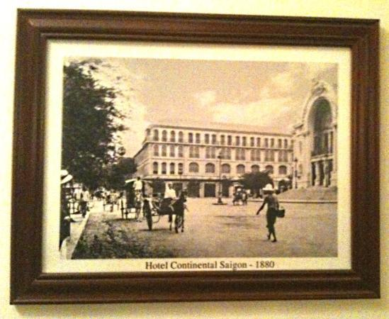 Hotel Continental Saigon - 1880