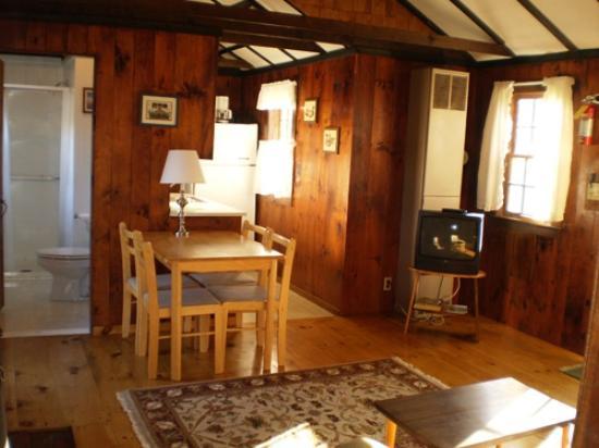 Eider Duck Cottages: Living Area